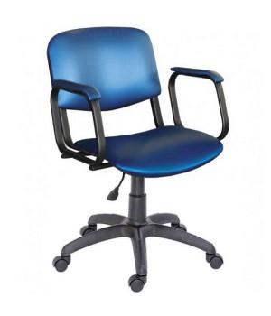 Парикмахерское кресло КОНТАКТ пневматика на колесах
