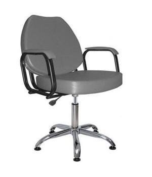 Парикмахерское кресло СОЛО пневматика хром