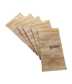 Крафт-пакеты для стерилизации, 100х250 мм